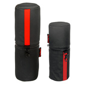 Tas Merah Cylinder Bag for Brushes and Tools