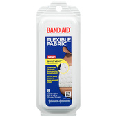 "Bandaid Flexible Fabric-Travel Size 8ct.-One Size 3/4"" x 3"""