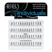 Ardell Duralash Individual Waterproof Lashes-Short Flair-Black