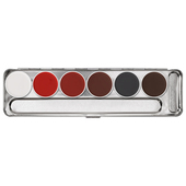 Kryolan Aquacolor Palette 6 Color-S