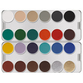 Kryolan Aquacolor Palette 24 Color-K