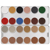Kryolan Aquacolor Palette 24 Color-N