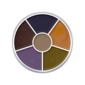 Kryolan 6 Color Bruise Circle-1oz