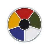 Kryolan 6 Color Rainbow Circle -1oz