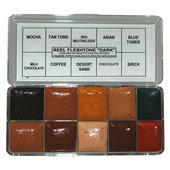 Reel Creations Color Palette-Fleshtone-Dark
