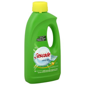 Cascade Dishwasher Liquid - Lemon 45oz