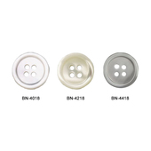 Shirt Button-Genuine Pearl-1 Dozen