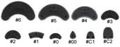 Traveler Shoe Plates w/Adhesive - 10 pairs
