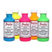 Angelus Neon Leather Paint