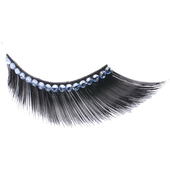 Monda Studio Black Flare w/Clear Crystal Lashes