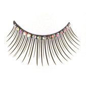 Monda Studio Black w/Crystal Strip Lashes