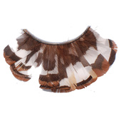 Monda Studio Brown Multi Color Feather Lashes