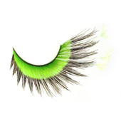 Monda Studio Green w/Feather Tip Lashes
