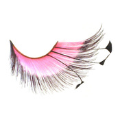 Monda studio pink w slash feather tip lashes msl 012