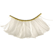 Monda Studio White Feather Lashes