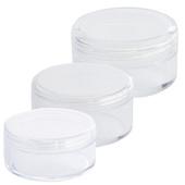 Monda Studio Powder Jar-Clear