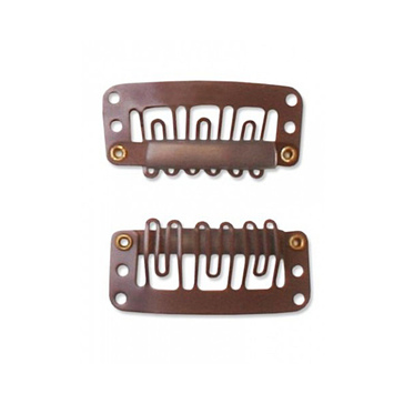 MWS Wide Tooth Toupee Clips-12 ct