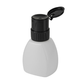 Pump Dispenser Bottle Lockable - 8 oz.