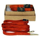 Mateo Designer Laces - Suede-Orange Bape