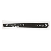 Flowery Disposable Nail Files - Tapered Wood Core
