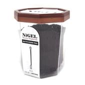 Nigel Matte Split End Bobbi Pins - 0.5 lbs