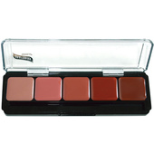 Graftobian 5 Shade Lip Color Palette - Fashion