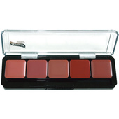 Graftobian 5 Shade Lip Color Palette - Specialty