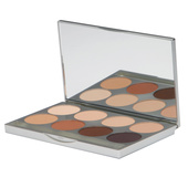 Graftobian 8 Shade HD Pro Powder Palette - Cool Plus