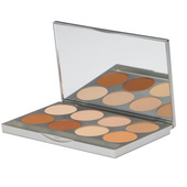 Graftobian 8 Shade HD Pro Powder Palette - Warm