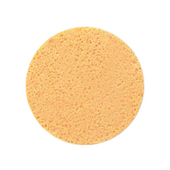 Facial Sponge Round Yellow