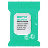Comodynes Purifying Cleanser Micellar Solution - Oily & Acne Prone Skin - 20 ct