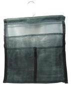 Premium Green Mesh Hanging Locker Bag With Bar