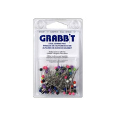 Grabbit Multi Colored Ballhead Steel Straight Pins (Size 20)