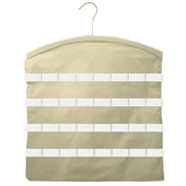 Muslin Accessory Hanger w/ 4 Rows of Non-Roll Elastic