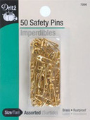 Dritz 00 Brass Safety Pins (50ct.)