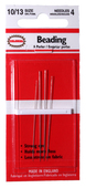 Beading Needles - Asst. sizes 10/13