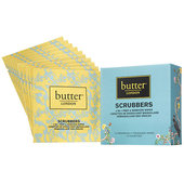 Butter London Scrubbers 2-in-1 Prep & Remover Wipes - 10 ct