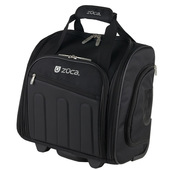 Zuca Skipper Artist Rolling Back Pack w/Brush Organizer - Black