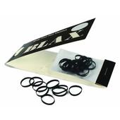 BLAX Snag-Free Hair Mini Elastics 2mm/ 20 ct - Black