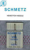 Schmetz Machine Needles - Hemstitch Needle