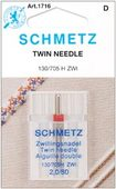 Schmetz Machine Needles - Twin Needle