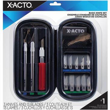 X-ACTO Basic Knife Set w/ Soft Case
