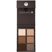 Viseart Palette 6 Theory 1 Eyeshadow Palette - Cashmere