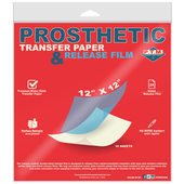 P.T.M. Prosthetic Transfer Paper & Release Film - 10 Sheet Pack