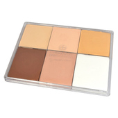 Le Maquillage Pro Fard Creme Palette-6 Color DAH26