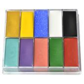 Le Maquillage Pro Fard Creme Palette-10 Color AC2