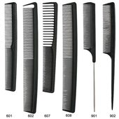 Creative Professional ALIS Heat & Chemical Resistant Carbon Comb