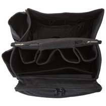 City Lights Heat Resistant Hair Styling Tool Bag - Black