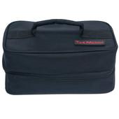 Tas Merah Poly Cosmetic Bag w/ 5 Clear Plastic Insert Bags