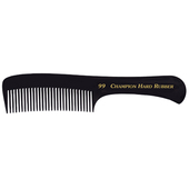 "Champion 9"" Rake Comb - Black"